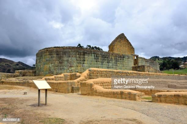 Ingapirca - Temple of the Sun Inca Ruins