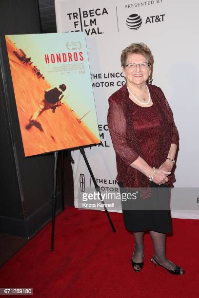 Inge Hondros attends the Hondros World Premiere during the 2017 Tribeca Film Festival at Cinepolis Chelsea on April 21 2017 in New York City