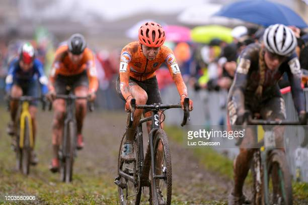 Inge Van Der Heijden of The Netherlands / during the 71st Cyclocross World Championships Dübendorf 2020, Women U23 / @UCI_CX / #Dubendorf2020 / on...