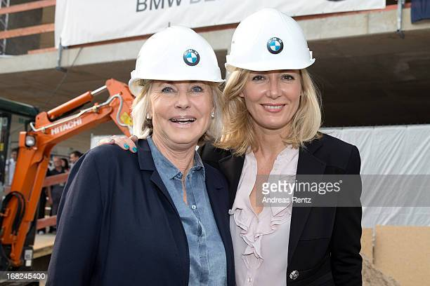 Inge WredeLanz and Judith Milberg attend roofing ceremony at BMW new Berlin location at BMW Niederlassung Berlin on May 7 2013 in Berlin Germany