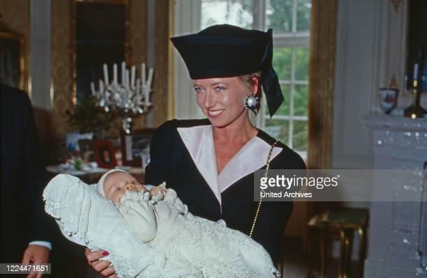 Ingeborg Princess to Schleswig Holstein as godmother, Germany, 1995.