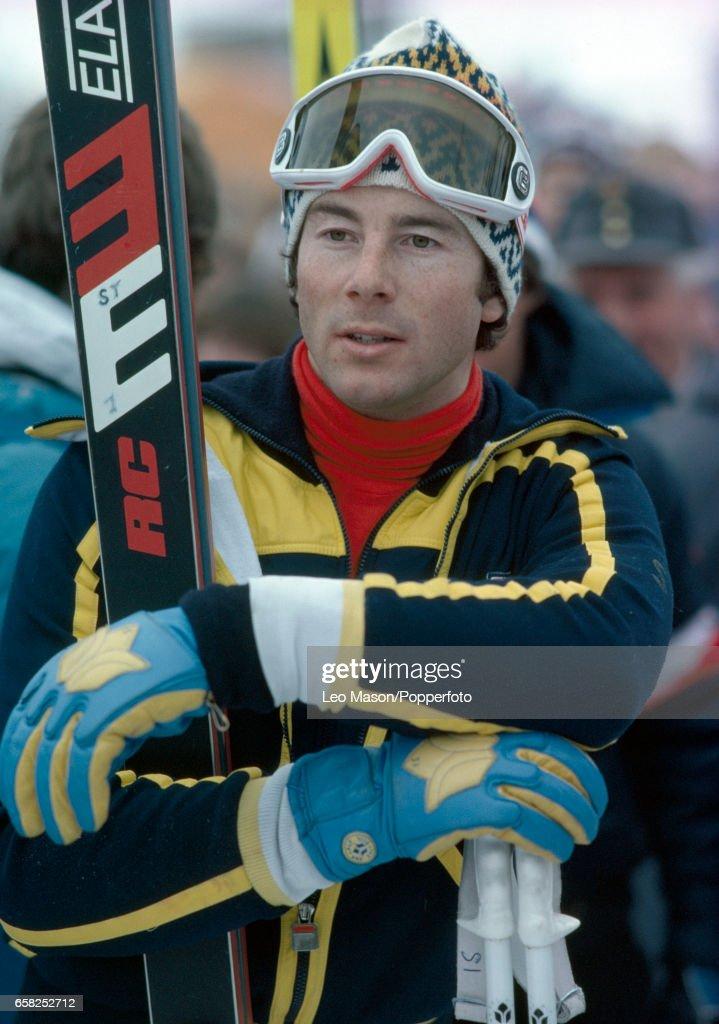Ingemar Stenmark Of Sweden During A Skiing Event In Kitzbuhel Austria Circa