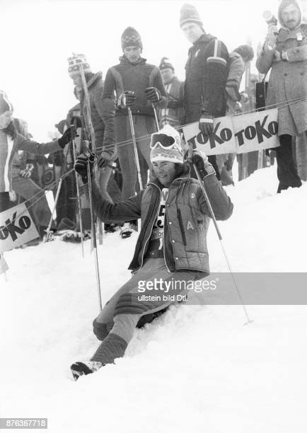 Ingemar Stenmark World Cup alpine ski racer from Sweden