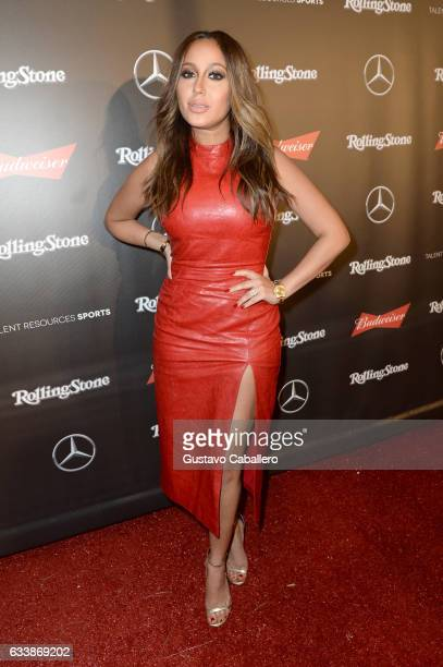inger Adrienne Bailon at the Rolling Stone Live Houston presented by Budweiser and MercedesBenz on February 4 2017 in Houston Texas Produced in...