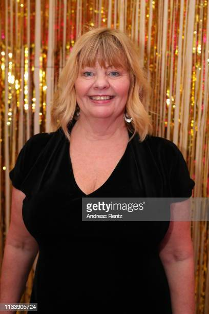Inger Nilsson attends the Gloria Deutscher Kosmetikpreis at Hilton Hotel on March 30 2019 in Duesseldorf Germany