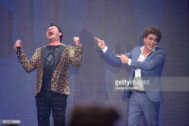 Ingo Appelt and Atze Schroeder during the Radio Regenbogen Award 2018 at Europapark Rust on March 23 2018 in Rust Germany