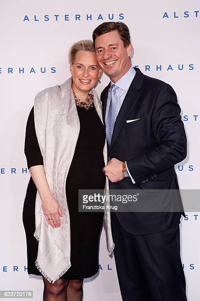 Ingo C Peters and Christiane Peters attend the new Luxury Hall Opening of the Alsterhaus on November 16 2016 in Hamburg Germany