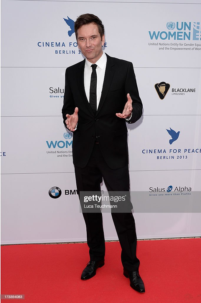 Ingo Nommsen arrives for the Cinema for Peace UN women honorary dinner at Soho House on July 12, 2013 in Berlin, Germany.