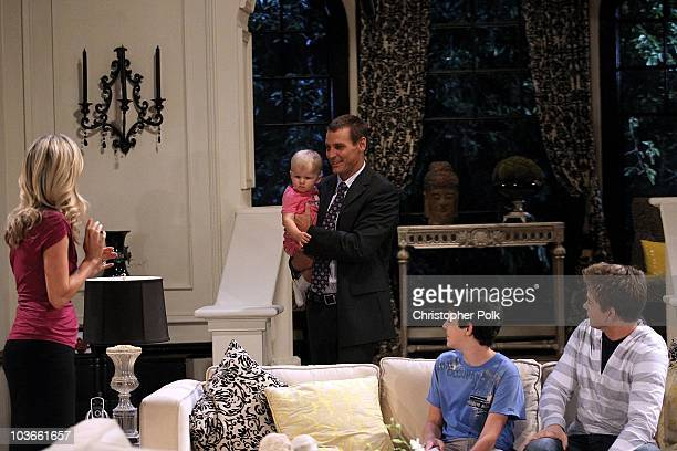 Ingo Rademacher Laura Wright Aaron Sanders and Chad Duell in a scene that airs the week of September 20th on ABC�s GENERAL HOSPITAL