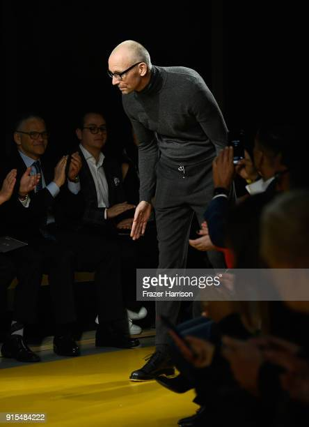 Ingo Wilts chief brand officer for Hugo Boss at BOSS Menswear February 2018 New York Fashion Week Mens' on February 7 2018 in New York City