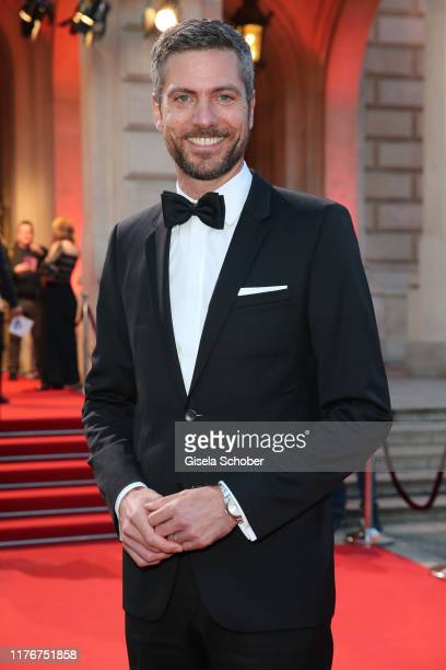 Ingo Zamperoni during the Hessian Film and Cinema Award at Alte Oper on October 18, 2019 in Frankfurt am Main, Germany.