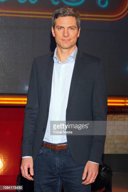 Ingo Zamperoni during the Wer weiss denn sowas XXL TV show on February 5 2019 in Hamburg Germany
