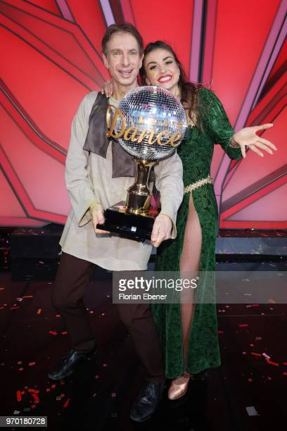 Ingolf Lueck and Ekaterina Leonova during the finals of the 11th season of the television competition 'Let's Dance' on June 8 2018 in Cologne Germany