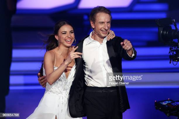 Ingolf Lueck and Ekaterina Leonova during the semi finals of the 11th season of the television competition 'Let's Dance' on June 1 2018 in Cologne...