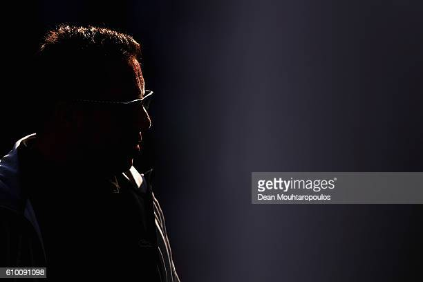 Ingolstadt 04 Head Coach / Manager Markus Kauczinski looks on during the Bundesliga match between Borussia Moenchengladbach and FC Ingolstadt 04 at...