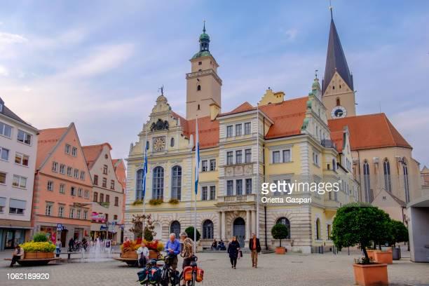 インゴルシュタット、市庁舎広場 (ババリア、ドイツ) - インゴルシュタット ストックフォトと画像
