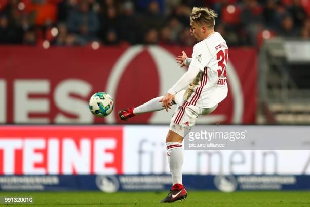 Ingolstadt's Thomas Pledl in action during the German 2nd division Bundesliga soccer match between 1 FC Nuremberg and FC Ingolstadt 04 in Nuremberg...