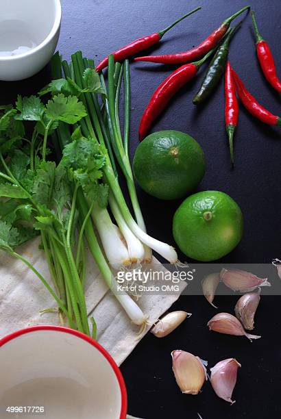 Ingredeint for Sliced red chili pepper in fish sauce