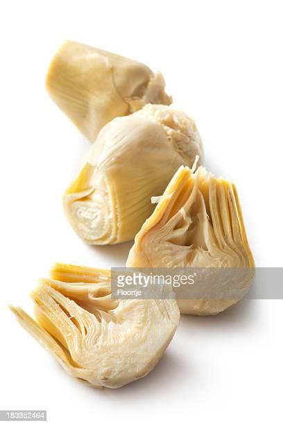 ingredienti: cuore di carciofo - carciofo foto e immagini stock