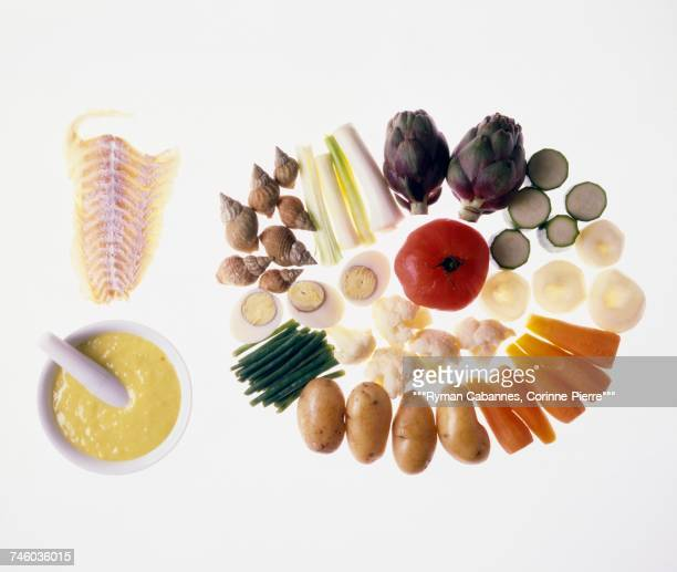 ingredients for Aioli
