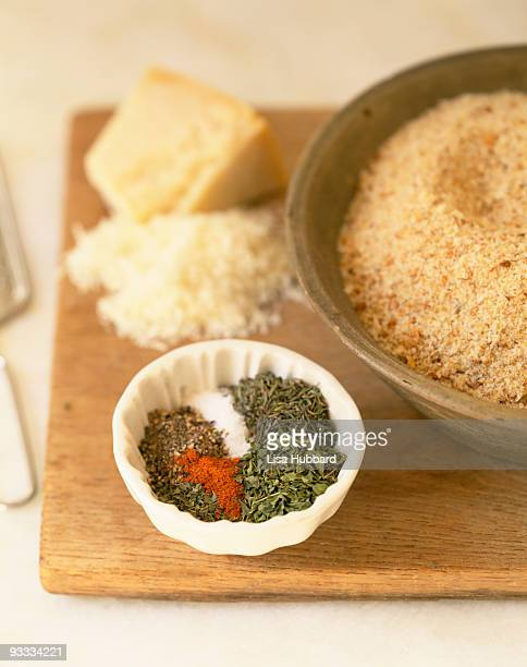 Ingredients for breading