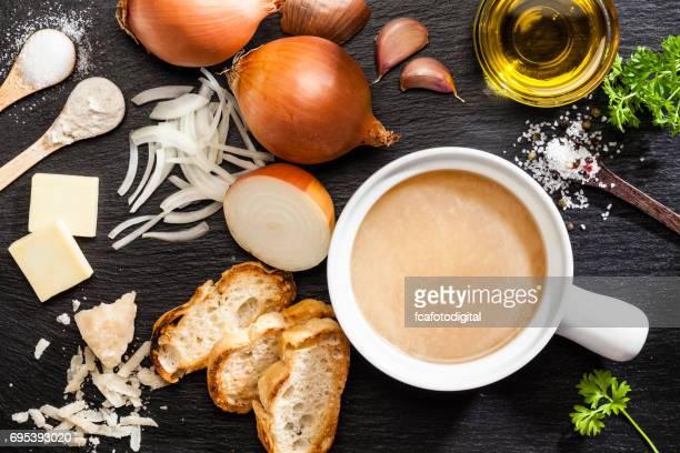 オニオン スープを料理の食材