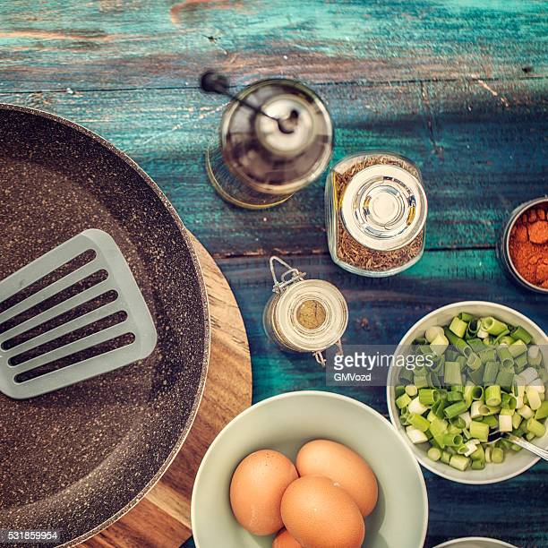 Ingredients for Indian Masala Fried Egg