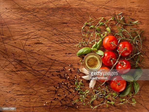 Zutaten für die Spaghetti-Sauce
