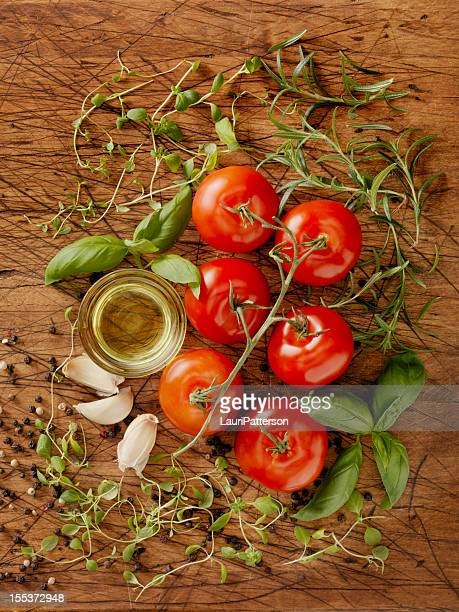 Ingredients for Making Spaghetti Sauce