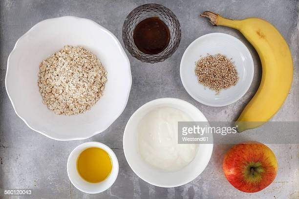 Ingredients for porridge