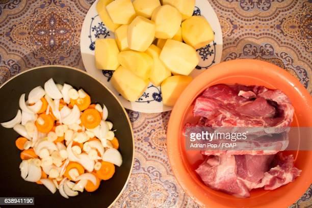 Ingredients for preparing meat