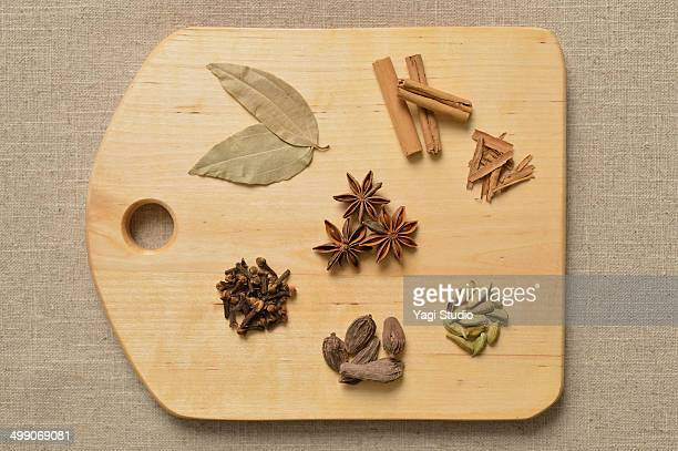 Ingredients for spiced tea?
