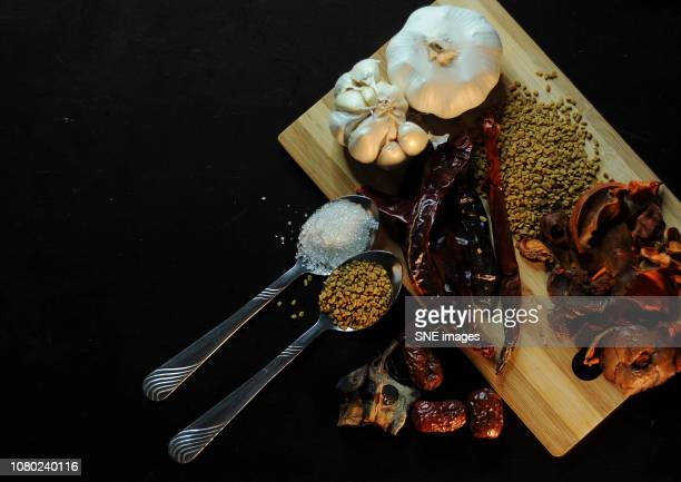 Ingredients in cooking