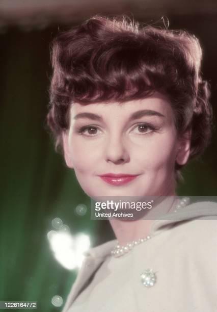 Ingrid Andree deutsche Schauspielerin Deutschland 1957 German actress Ingrid Andree Germany 1957