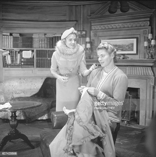 Ingrid Bergman and Simone Paris star in a 1957 stage production of Robert Anderson's play Tea and Sympathy
