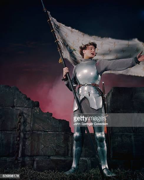 Ingrid Bergman as Joan of Arc