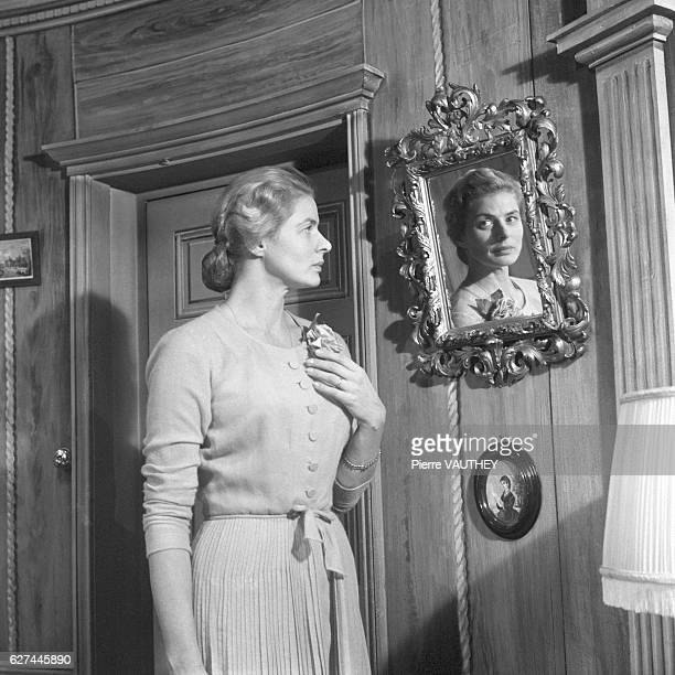Ingrid Bergman stars in a 1957 stage production of Robert Anderson's play Tea and Sympathy