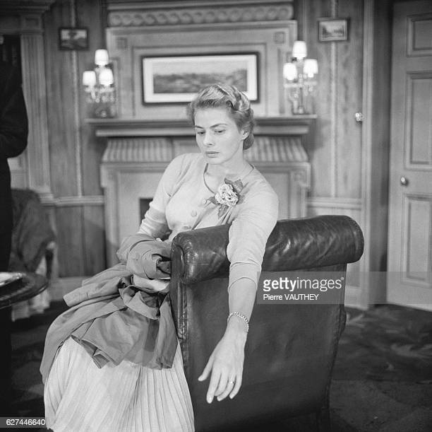 Ingrid Bergman stars in a 1957 stage production of Robert Anderson's play, Tea and Sympathy.