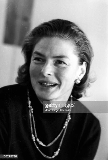 Ingrid Bergman Swedish actress 1962