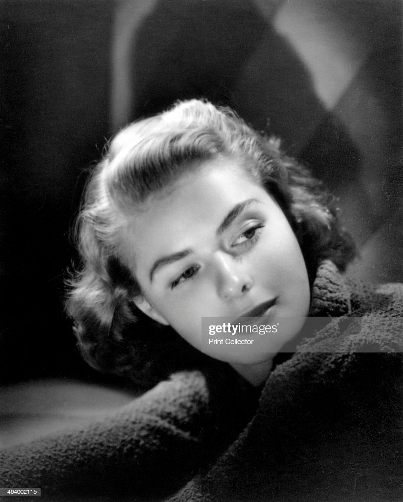 Ingrid Bergman, Swedish actress and film star, c1940.Artist: Laszlo Willinger : News Photo