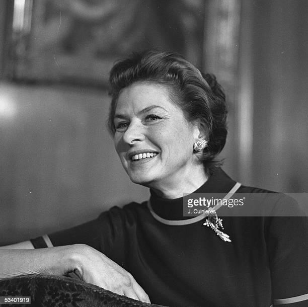 Ingrid Bergman Swedish actress Paris on 1969 JAC1017703