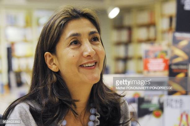 Ingrid Betancourt in Montreal to sign her new book Meme le silence a une fin Canada on December 7 2010