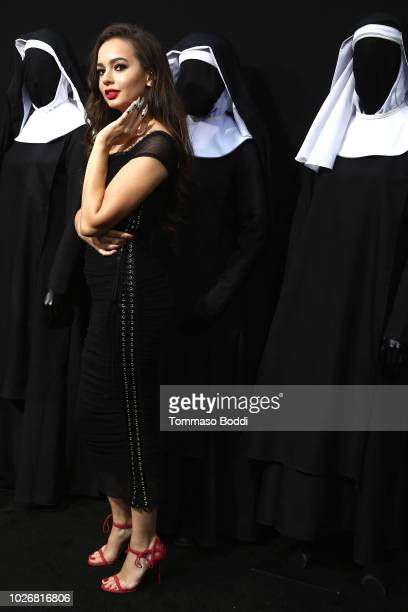 Ingrid Bisu attends the Premiere Of Warner Bros Pictures' The Nun at TCL Chinese Theatre on September 4 2018 in Hollywood California