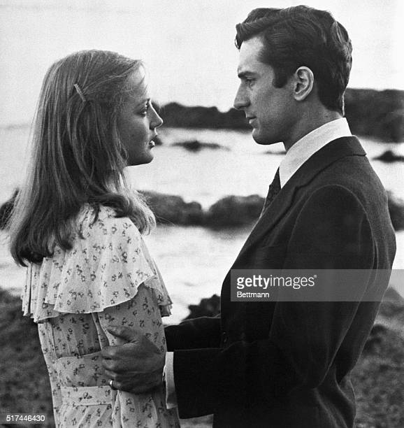 Ingrid Boulting and Robert De Niro in scenes from the movie The Last Tycoon