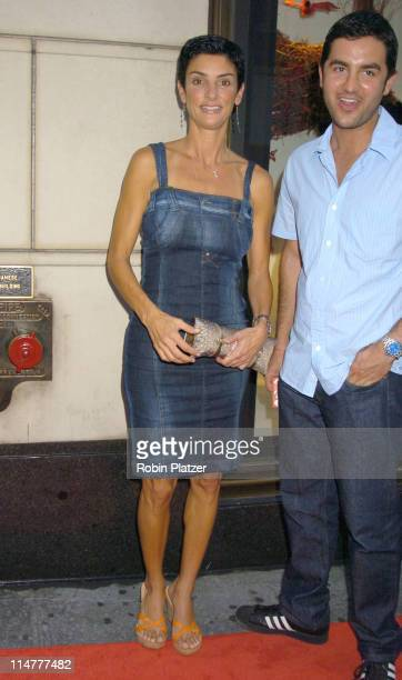 Ingrid Casares and guest during Lotsa de Casha by Madonna Book Launch Party at BergdorfGoodman in New York June 7 2005 Outside Arrivals at...