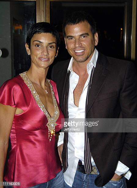 Ingrid Casares and Guest during MTV Video Music Awards Latin America 2004 Audience and Backstage at Jackie Gleason Theater in Miami Florida United...