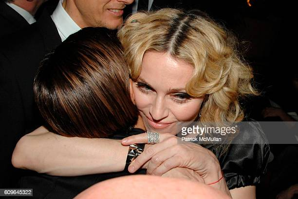 Ingrid Casares and Madonna attend THE CINEMA SOCIETY and PIAGET host the after party for REVOLVER at Gramercy Park Hotel Rooftop on December 2 2007...