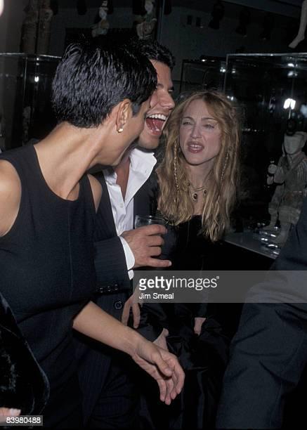Ingrid Casares and Madonna