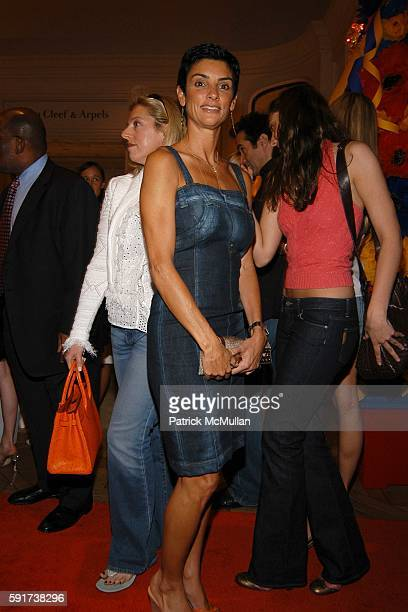 Ingrid Casares attends Madonna Childrens Book Lotsa de Casha published by Callaway Arts and Entertainment at Bergdorf Goodman on June 7 2005 in New...