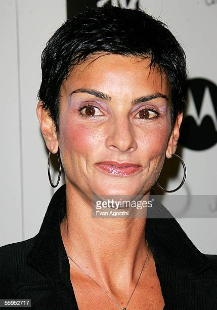Ingrid Casares attends the screening of Madonna's new documentary film I'm Going To Tell You A Secret at Loews Lincoln Square on October 18 2005 in...